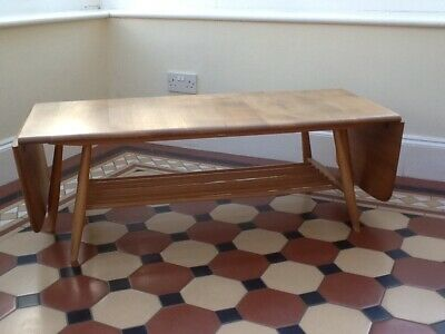 Beautiful Ercol Drop Leaf Extending Coffee Table, Good Used Condition • 175£