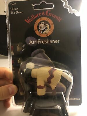 Wallace & Gromit - Shaun The Sheep - Air Freshener - Unused And Sealed • 1£