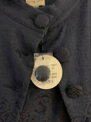 Lindy Bop Black Dress And Jacket Size 12 New With Tag • 15£