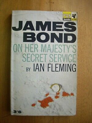 On Her Majesty's Secret Service, By Ian Fleming, 1965 007 Pan Paperback Book • 4.99£