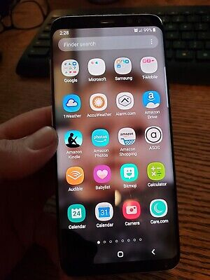 $ CDN25.40 • Buy Samsung Galaxy S8 64 GB Tmobile Version Black For Parts But IS WORKING WELL USED