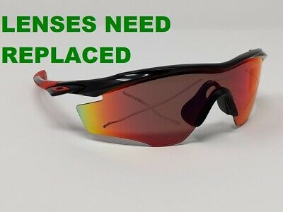 $54.95 • Buy Authentic PARTS! Oakley M2 Frame Sunglasses Black/Red Frame Only A&S
