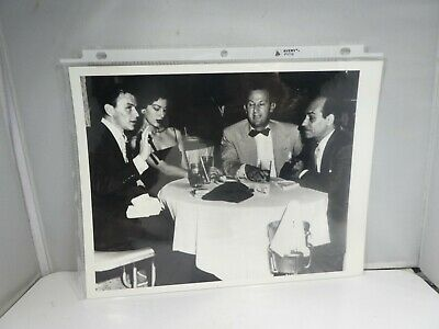 £18.18 • Buy Vintage Photograph Of Frank Sinatra And Ava Gardner On Vacation