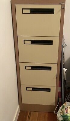 AU45 • Buy Filing Cabinet, 4 Drawer & Key, Fits A4 Paper & Files- Precision,Excellent Cond!