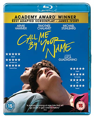 AU17.68 • Buy Call Me By Your Name (Non Uv) BLU-RAY NEW