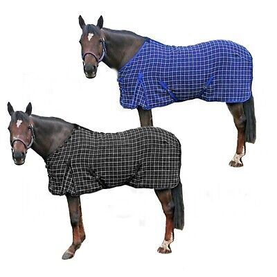 Waffle Cooler Rugs, Black/White & Navy Blue/White-The Ragnar Collection • 24.95£