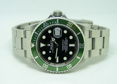 $ CDN14736.96 • Buy ROLEX SUBMARINER 16610LV 50th ANNIVERSARY EDITION KERMIT GREEN BEZEL/BLACK DIAL