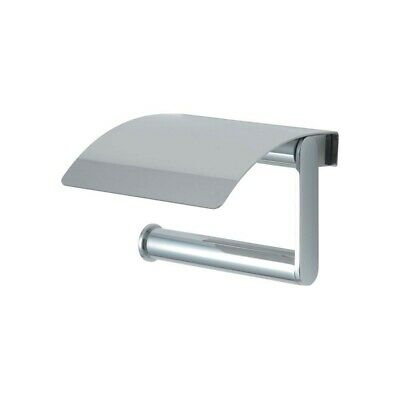 Quality Ideal Standard Toilet Tissue Roll Holder Chrome W/ Cover Concept N1315AA • 14.50£