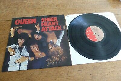 Queen - Sheer Heart Attack UK 1974 1st EMI EMC 3061 3U/ 4U '74 Classic Rock LP • 39.99£