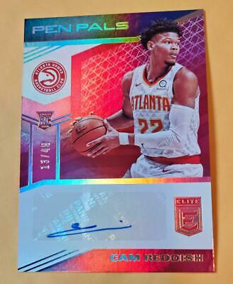 $ CDN13.20 • Buy 2019-20 Panini Elite Pen Pals Cam Reddish SP Autograph Auto RC #/49 Hawks Rare