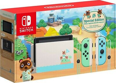 AU510 • Buy Nintendo Switch Animal Crossing New Horizons Special Edition Console AU Stock