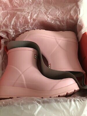 Hunter Pink Short Play Boot Size 6 • 25£