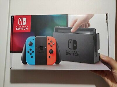 AU315 • Buy Nintendo Switch 32GB Neon Blue/Neon Red Console
