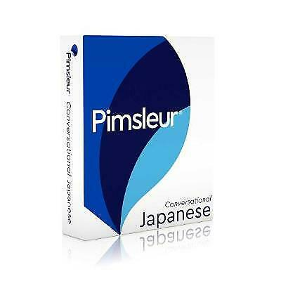 £29.29 • Buy Pimsleur Japanese Conversational Course - Level 1 Lessons 1-16 CD: Learn To Spea