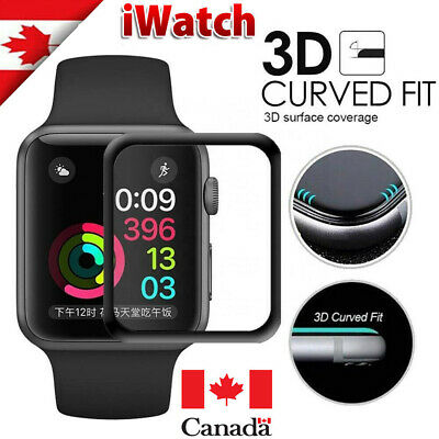 $ CDN5.89 • Buy Premium Screen Protector Film Full Cover For Apple Watch Series 1 2 3 4 5 6 SE
