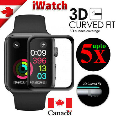 $ CDN5.35 • Buy Premium Screen Protector Hydrogel Film Cover For Apple Watch Series 1 2 3 4 5