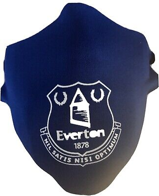 Everton Fc Face Covering.support Your Team From A Safe Distance. • 4£
