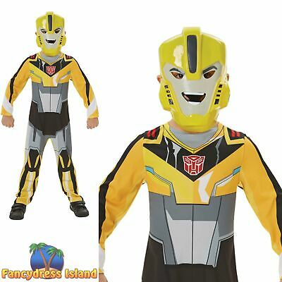 Rubies Official Transformers Bumble Bee Classic Boys Fancy Dress Costume • 23.39£