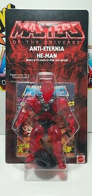 $250 • Buy MOTU Anti-Eternia He-Man Action Figure New Carded Masters Of The Universe
