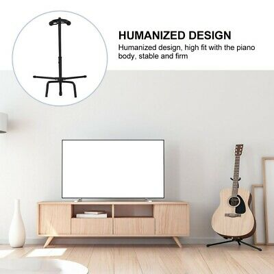 $ CDN29.43 • Buy 1Pc Guitar Holder Guitar Support Guitar Stand Instrument Display Stand (Black)
