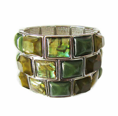 $ CDN0.13 • Buy -M104 Lia Sophia Jewelry Cast Away Stretch Bracelet Size M/L RV$120