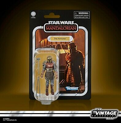 $ CDN48 • Buy Star Wars The Vintage Collection The Armorer 3.75-Inch-Scale The Mandalorian