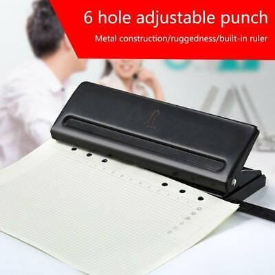 AU23.91 • Buy 6 Holes Puncher Punch Office Binding Supplies Student Stationery Equipment Tool