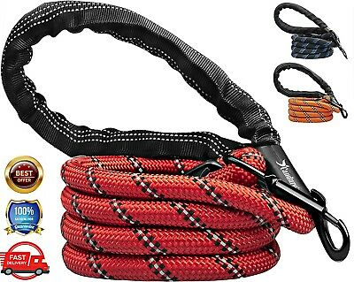 £6.19 • Buy Dog Leash Lead Rope Pet Leads Strong Soft For Medium Large Dogs 5FT Leads