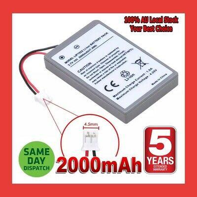 AU24.98 • Buy PS4 Battery For Sony Playstation 4 Controller 2000mAh Rechargeable Liion X 2 TWO