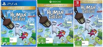 AU78 • Buy Human Fall Flat Family Kids Game Sony PS4 Playstation 4 XBOX One Nintendo Switch