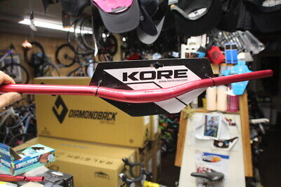 $39 • Buy Kore Durox 20mm Rise 780mm Wide Mountain Bike Handlebar 31.8m Clamp Butted Red