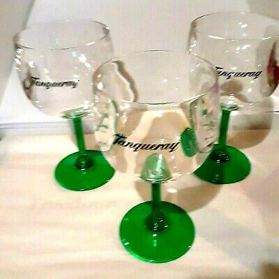 Tanqueray Copa Goblet Not GLass Gin Cocktail Wine Set Of 6 New Green  • 32.20£