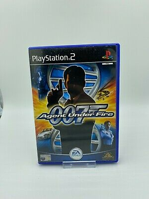 James Bond 007: Agent Under Fire Sony PlayStation 2 PS2 PAL Complete • 2.95£