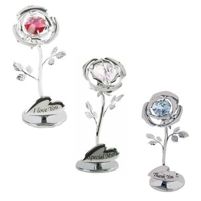 Swarovski Crystal Flower Gifts For Him Her Some One Special Mum Nanna Sister  • 10.85£