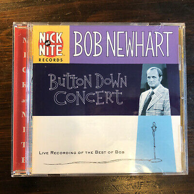 Bob Newhart Button Down Concert Live Best Of CD Audio Comedy Humour Jokes • 3.99£