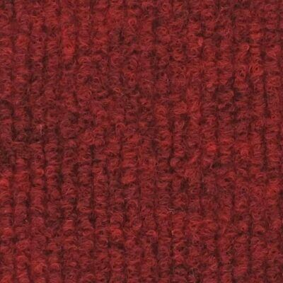£30.50 • Buy CORD Dark Red | Quality Ribbed Carpet Recyclable Ideal Temporary Budget Flooring