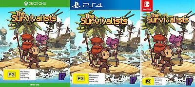 AU98 • Buy The Survivalists PS4 XBOX One Nintendo Switch Family Kids Build & Survive Game