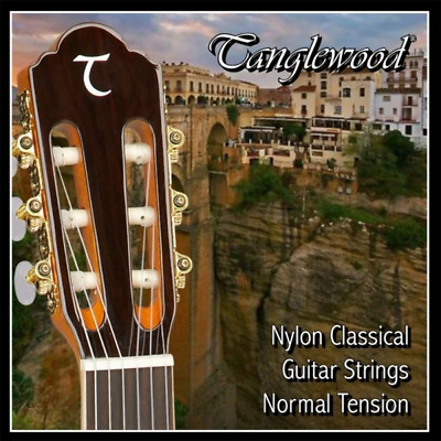 $ CDN12.08 • Buy Tanglewood Nylon Classical Guitar Strings - Normal Tension