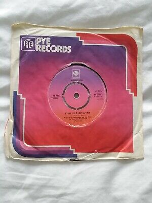£15 • Buy Modern Crossover Soul - The Real Thing 'stone Cold Love Affair' Uk Pye