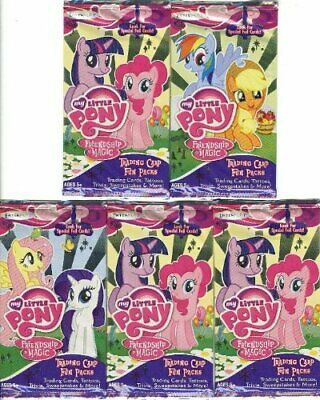 My Little Pony Friendship Is Magic Enterplay Trading Card Lot Of 5 Fun Packs • 17.35£