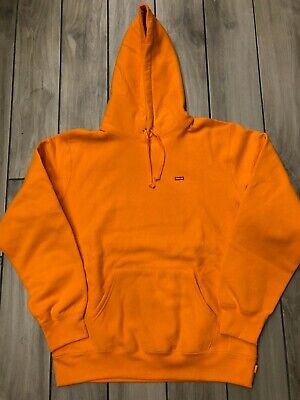 $ CDN280.69 • Buy Supreme  Small Box Logo  Hoodie Orange 2020 - Item Number 4640-6