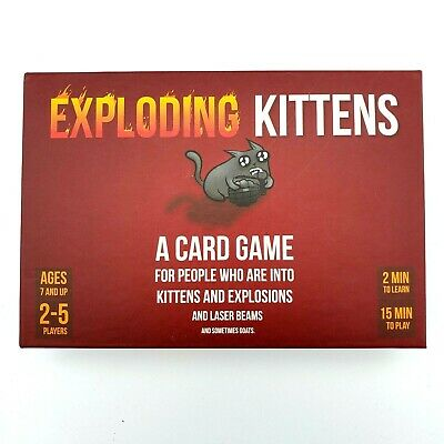 AU27.04 • Buy Exploding Kittens A Card Game For People Into Kitten And Explosions NEW