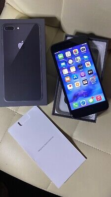 IPhone 8 Plus Space Grey - 64GB - (Unlocked) Immaculate Unmarked Throughout • 132£