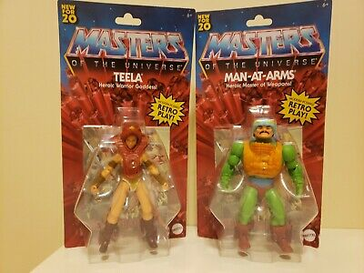 $38.88 • Buy ***LOT OF 2*** Masters Of The Universe Origins Teela & Man-At-Arms MOTU 2020