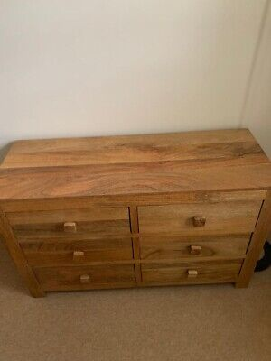Oak Furniture Land Chest Of Drawers • 109£