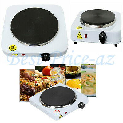 £19.95 • Buy New Single Electric Hot Plate Portable Stove Table Top Kitchen Cooker Hob 1.5KW