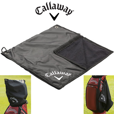 £24.95 • Buy Callaway Golf Waterproof Rain Hood/Cover & Golf Towel Combo
