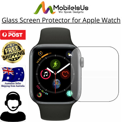 AU4.95 • Buy NEW Glass Screen Protector For Apple Watch Series 6/2/3/4/5 SE 38/42mm IWatch