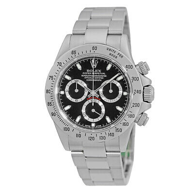 $ CDN24813.28 • Buy ROLEX Stainless Steel 40mm Daytona Cosmograph 116520 Warranty Papers 2002 MINTY