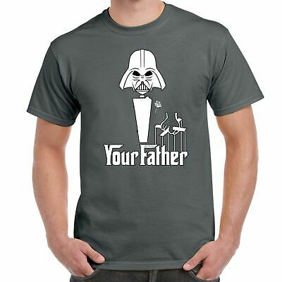 Mens T Shirts-Darth Vader Your Father Star Wars Inspired-Funny Gifts • 7.99£